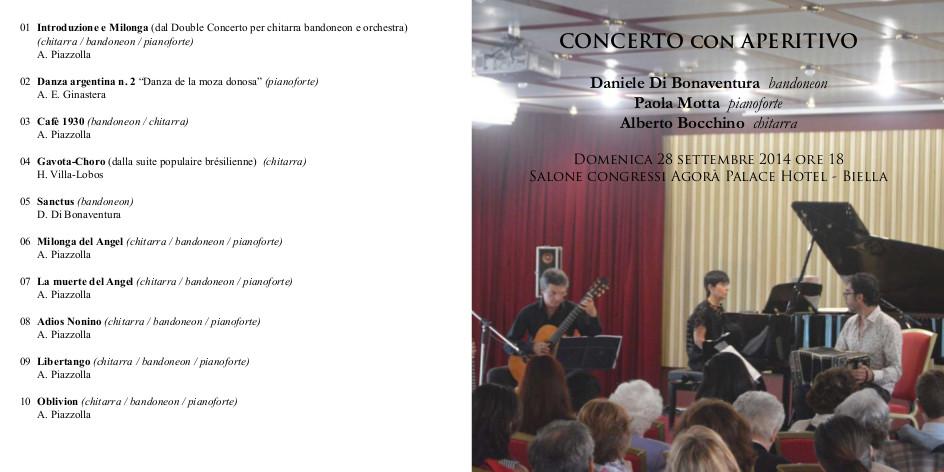 Concerto live ESCAPE='HTML'
